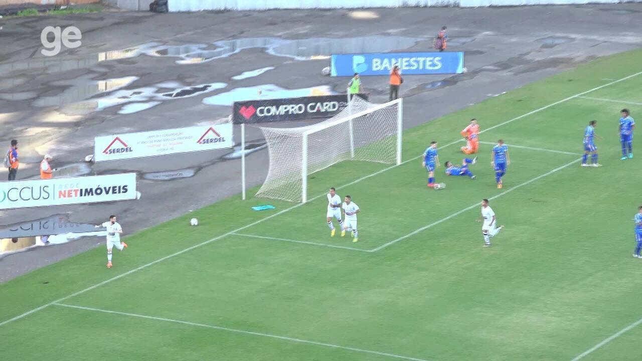 Os gols de Vitória-ES 0 x 2 Caldense, pela Série D do Campeonato Brasileiro 2019
