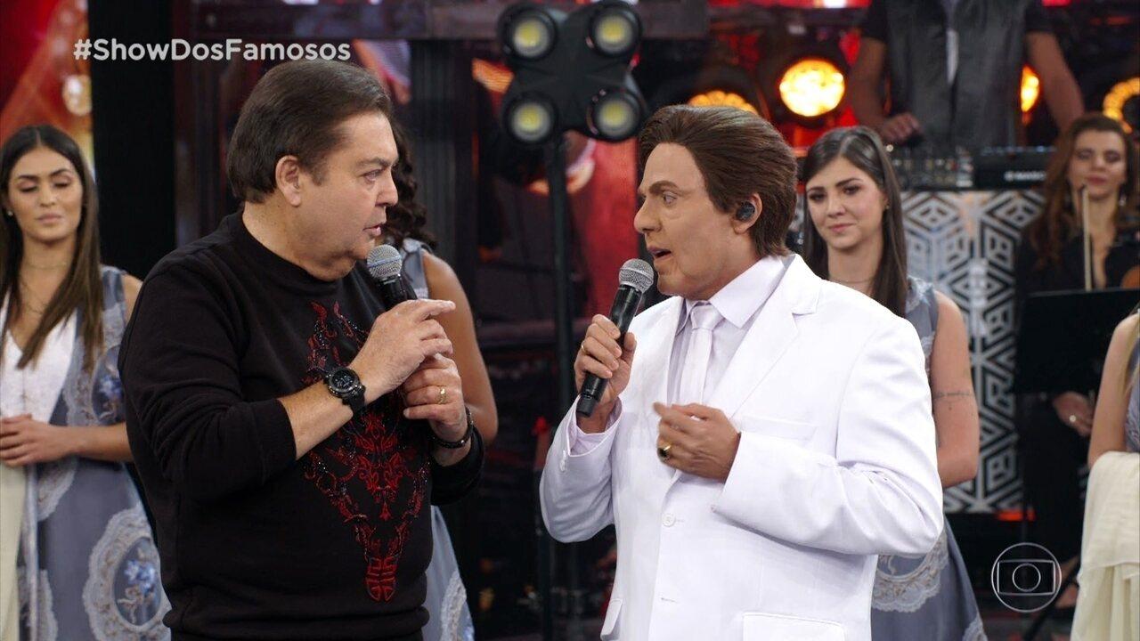 Ceará faz relato emocionante sobre os bastidores do 'Show dos Famosos'