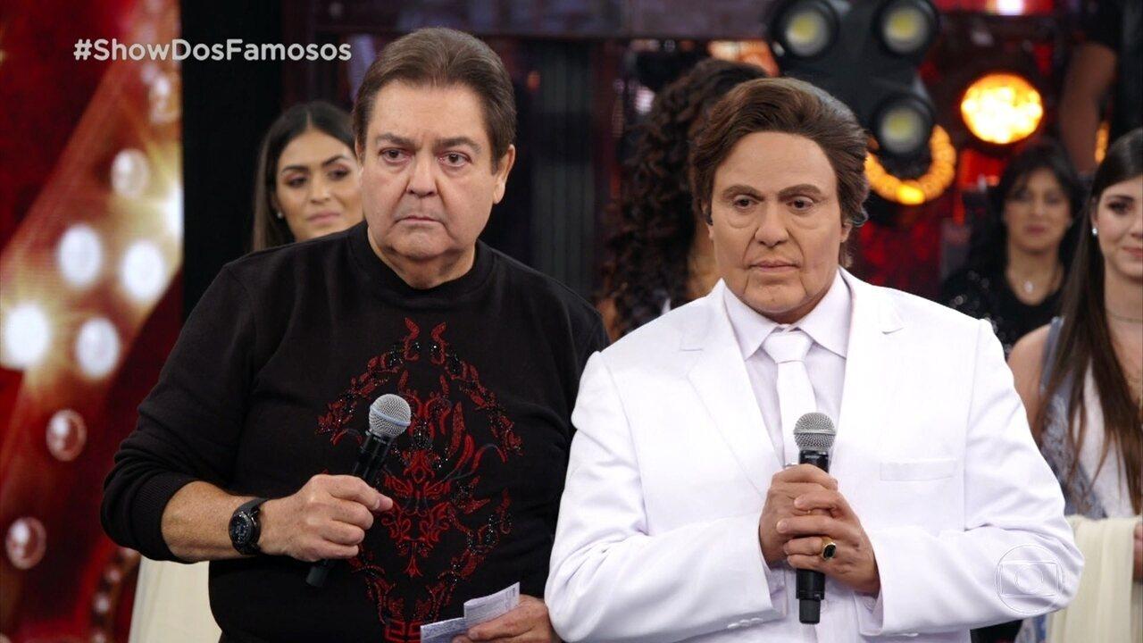 Os jurados comentam a apresentação de Ceará