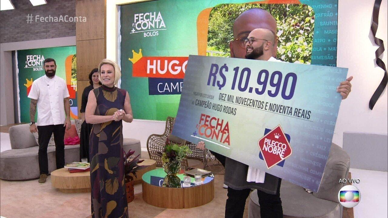 Hugo é o vencedor do 'Fecha a Conta Arroz'