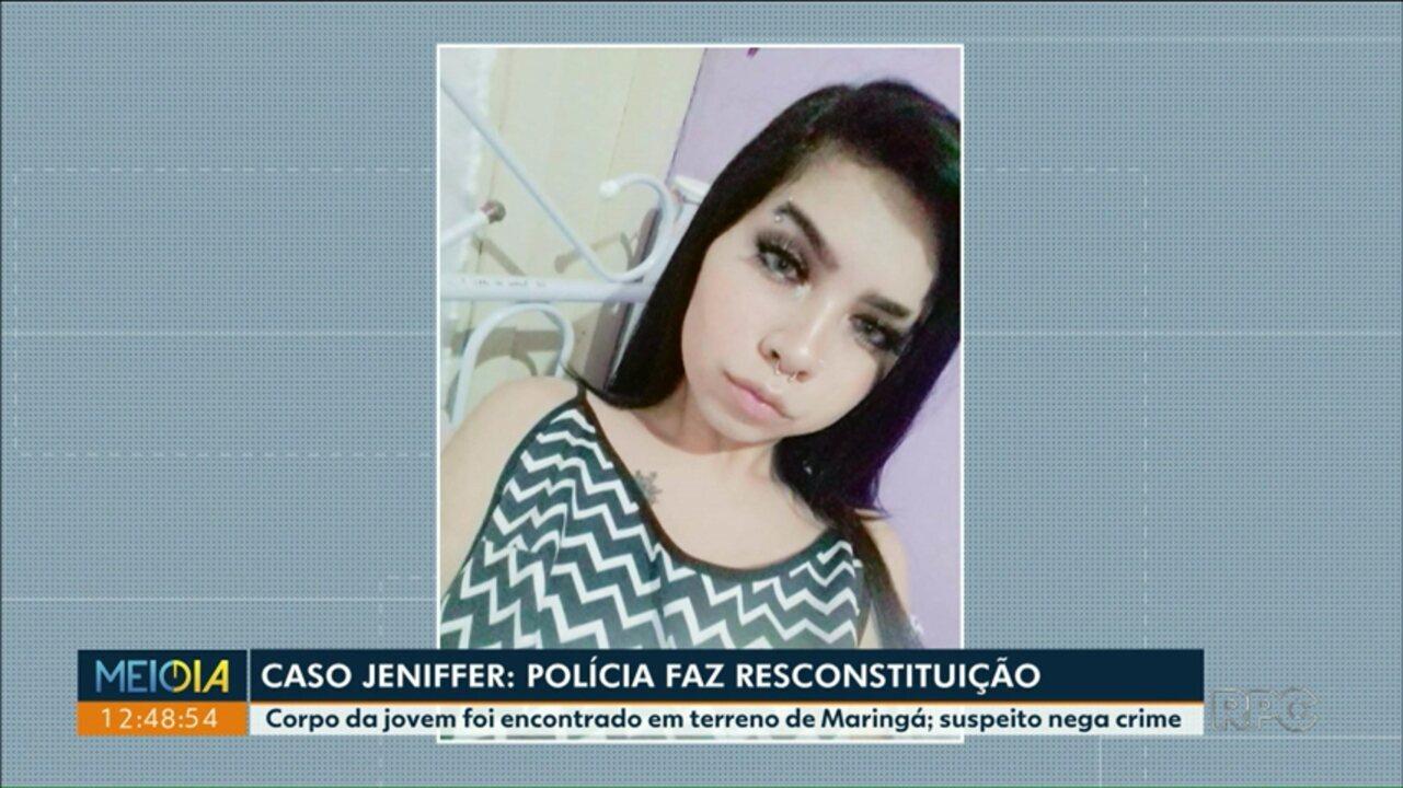 Polícia Civil faz reconstituição da morte de menina de Maringá