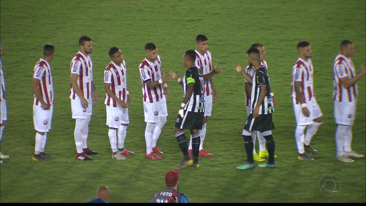 Confira como foi a vitória do Náutico sobre o Treze pela Série C do Brasileiro