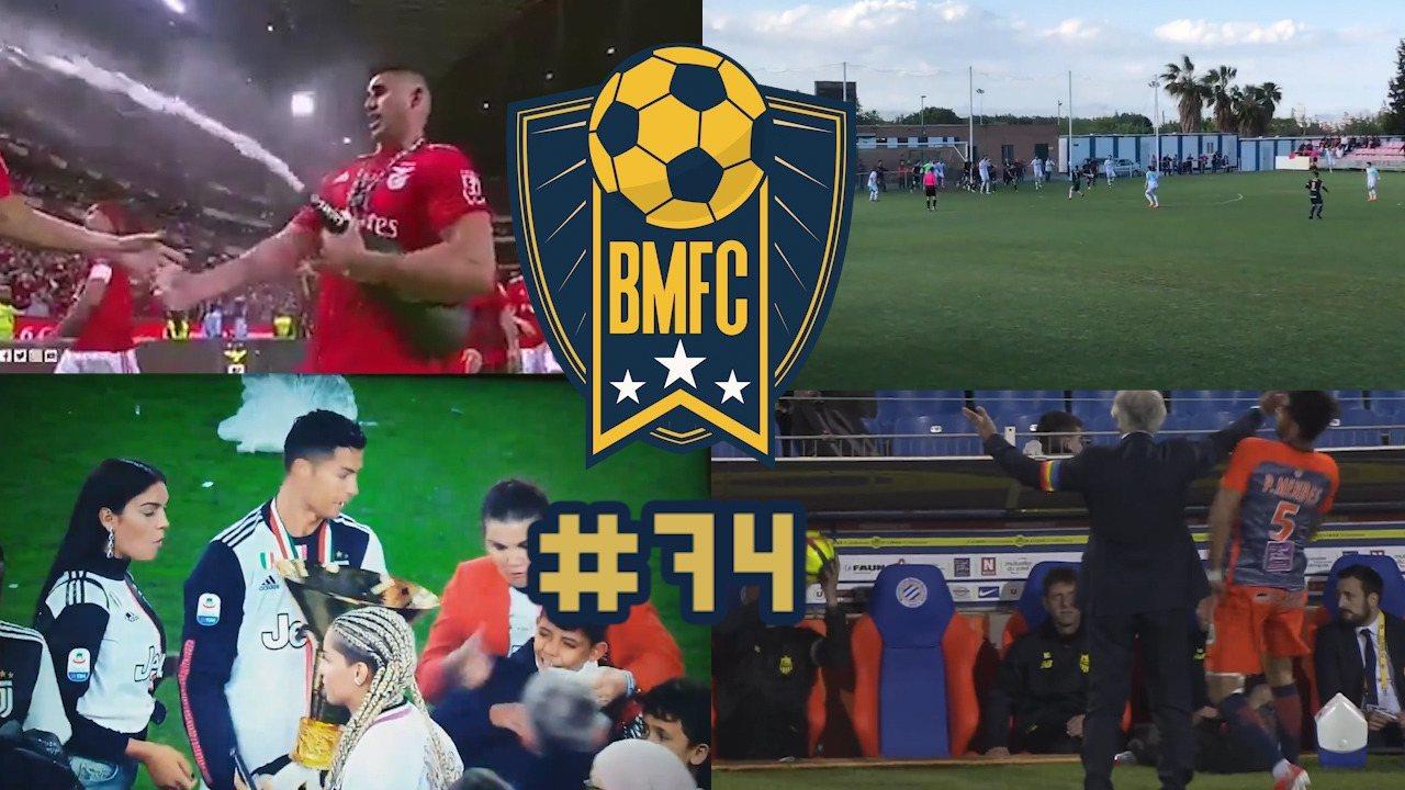 """BMFC #74: Golaço de goleiro, agressões """"do bem"""" na Europa e pintura de ex-São Paulo"""