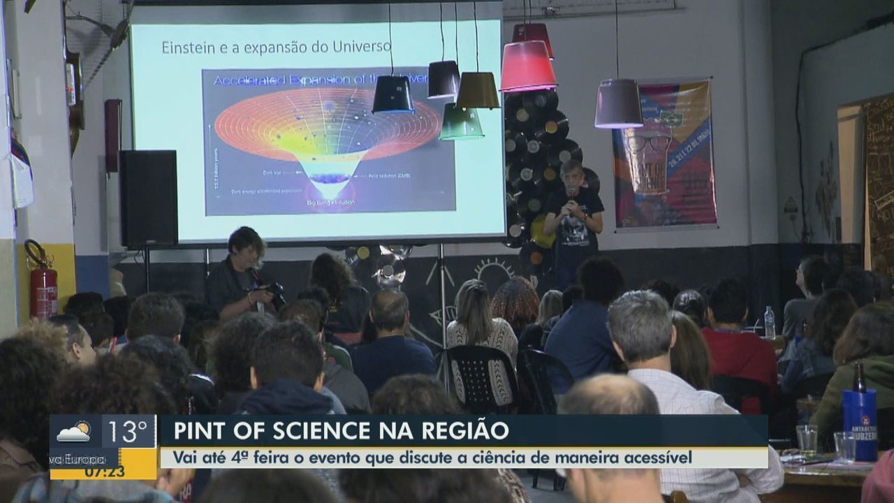 Pint of Science leva a ciência para bares de São Carlos, Araraquara, Rio Claro e Araras