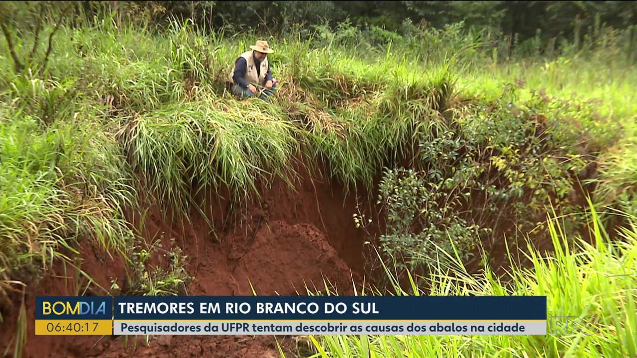 Tremores em Rio Branco do Sul