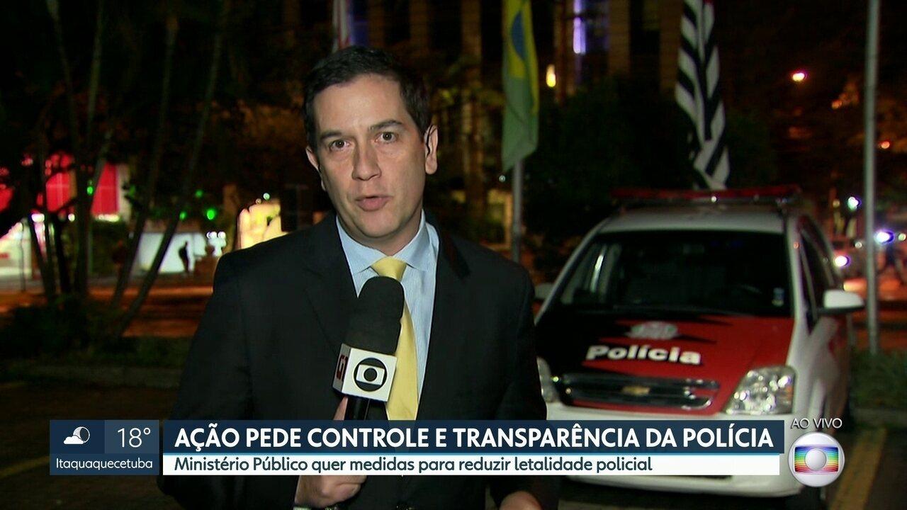 Ministério Público entra com ação civil contra o Estado para diminuir letalidade policial