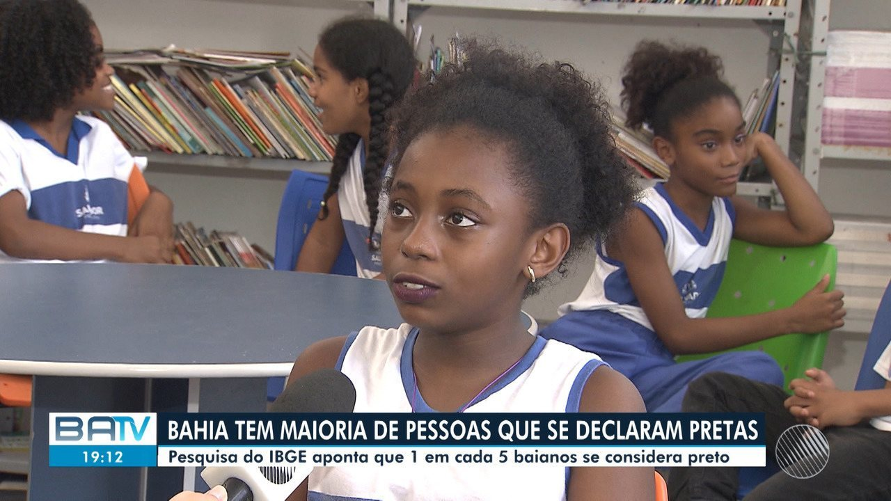 Bahia é único estado onde o número de pessoas que se declaram pretas é maior que brancas