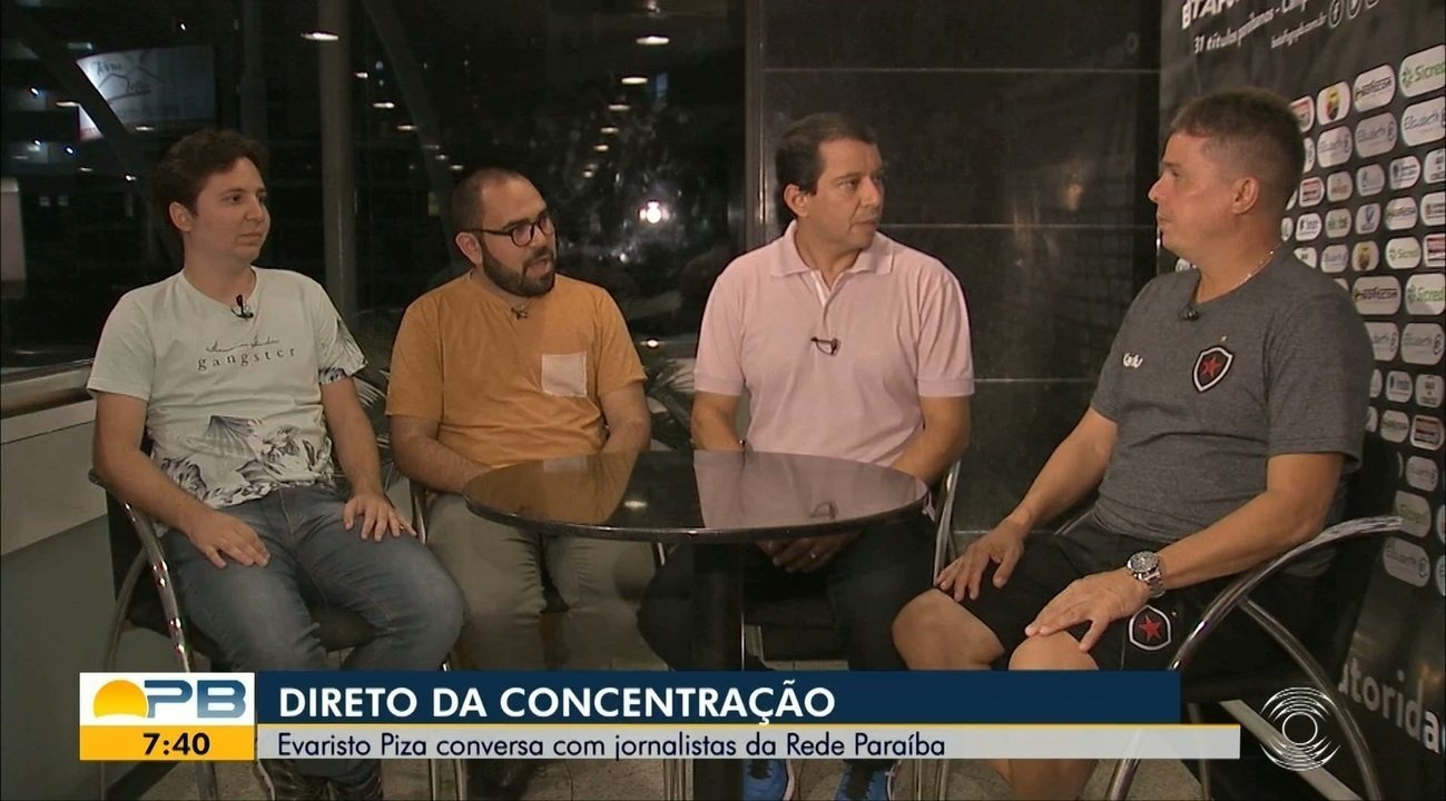 Assista ao bate-papo exclusivo do GloboEsporte com Evaristo Piza