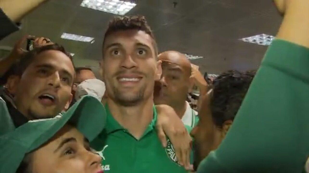 Palmeiras chega a Brasília para enfrentar o Botafogo