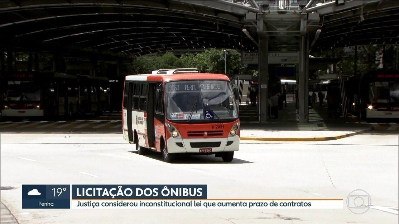 Prefeitura deve assinar nova licitação dos ônibus