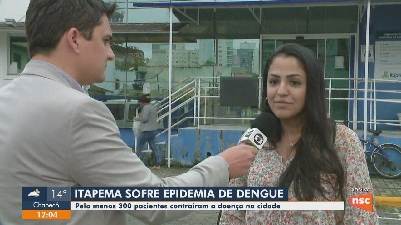 Itapema registra epidemia de dengue com cerca de 300 casos confirmados