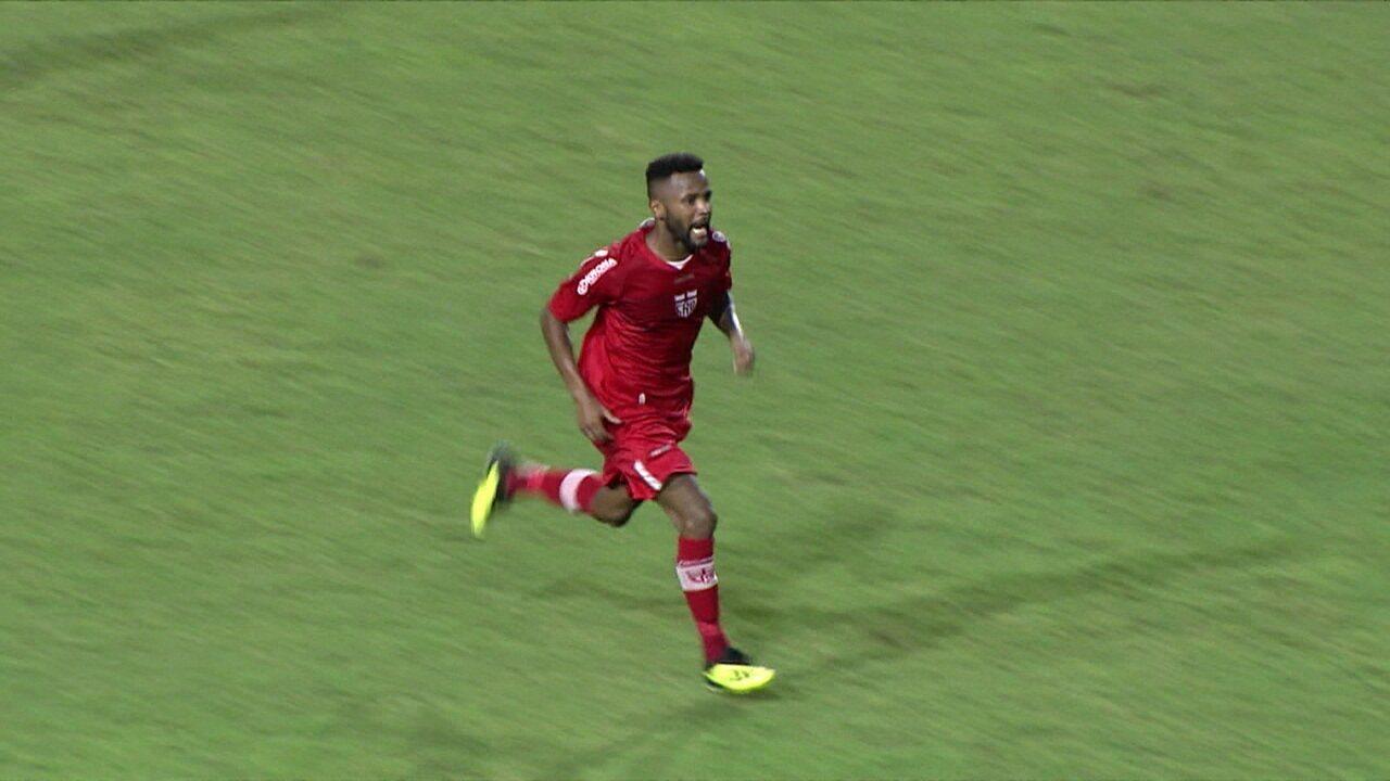 Gol do CRB! Willie marca para o Galo contra o Vila Nova