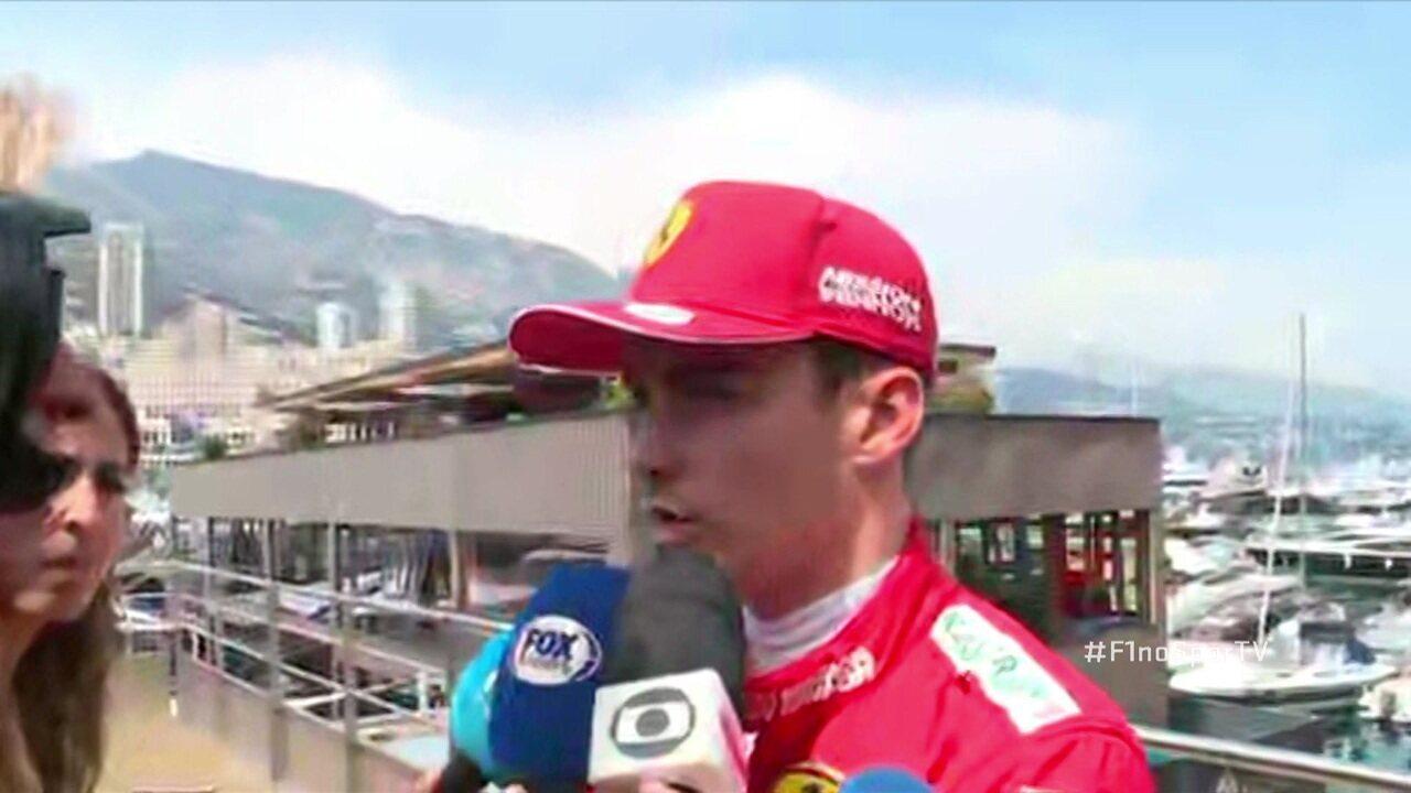 Charles Leclerc fala sobre ficar fora do Q2 em Mônaco
