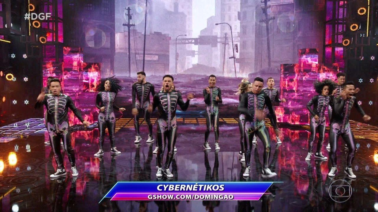 Cybernétikos se apresentam no 'Dança de Grupo' com Hip Hop e Rock