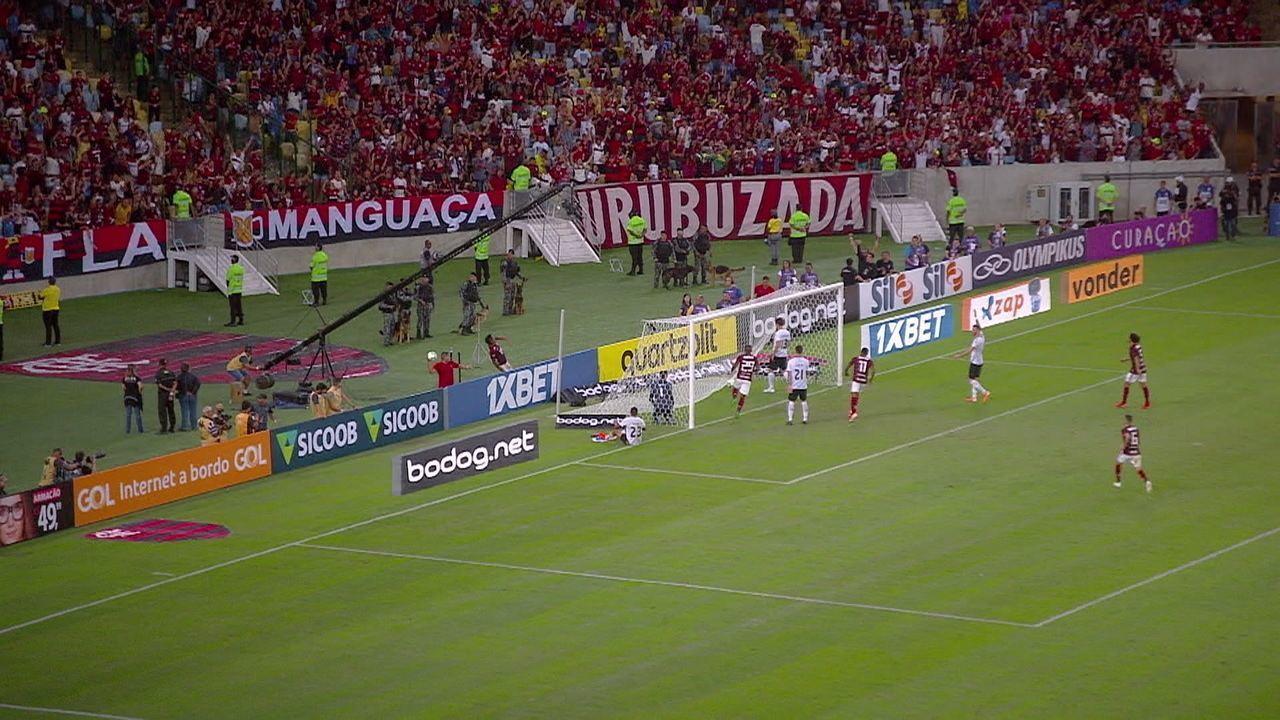 Melhores momentos de Flamengo 3 x 2 Athletico-PR pela 6ª rodada do Campeonato Brasileiro