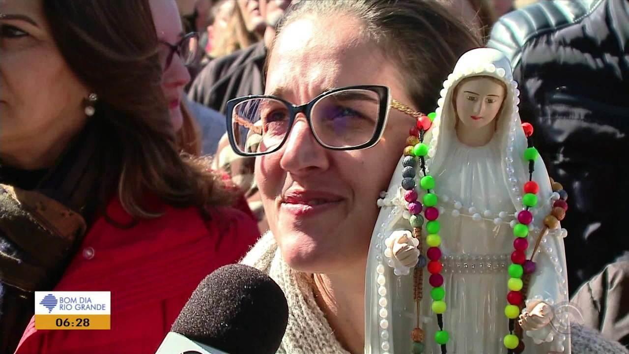 Cidades do RS fazem homanagem para Nossa Senhora do Caravaggio neste fim de semana
