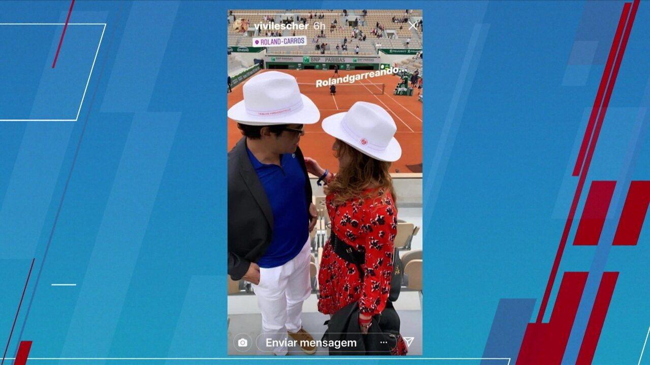 Raí aparece em foto em Roland Garros e recebe críticas da torcida do São Paulo
