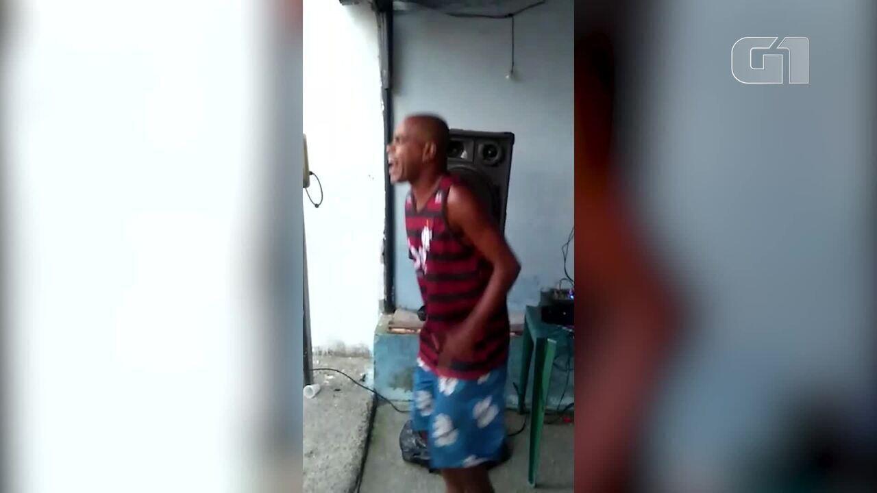 Imagens mostram vítimas em bar de São Gonçalo antes da chegada de atiradores