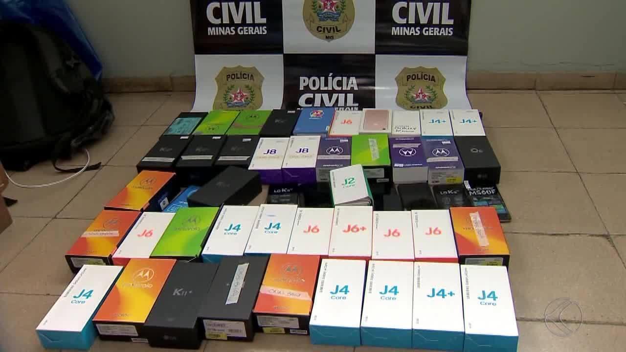 Polícia Civil prende suspeitos de receptação de celulares roubados em Juiz de Fora