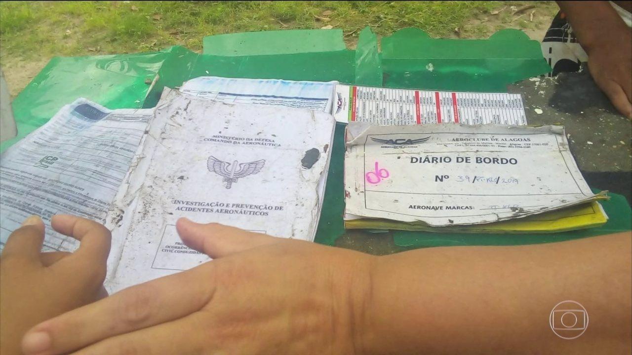 Avião de pequeno porte cai em Sergipe