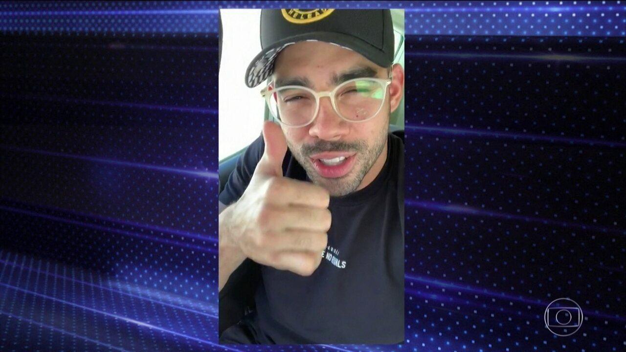 Cantor Gabriel Diniz morre em acidente aéreo em Sergipe