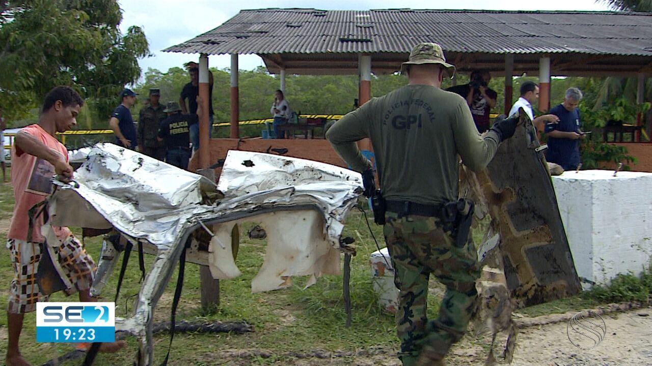 Perícia ecupera todos os destroços de aeronave de acidente onde morreu Gabriel Diniz
