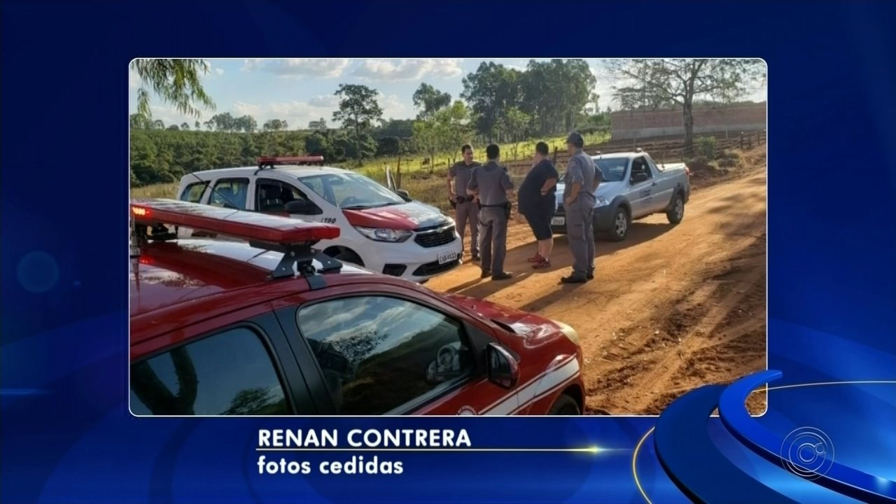 Bombeiros e polícia fazem buscas por gestante desaparecida em mata de Cosmorama