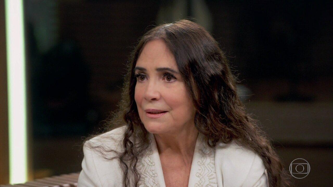 Regina Duarte fala sobre seu apoio a Jair Bolsonaro