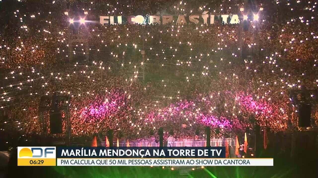 2e539aba17839b Show de Marília Mendonça reúne 50 mil pessoas na Torre de TV