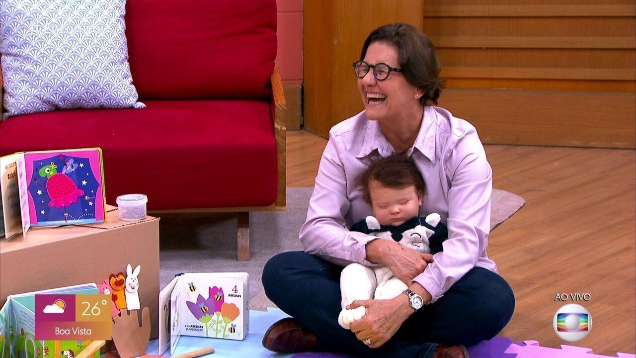 Vínculo afetivo é fundamental para o desenvolvimento do bebê