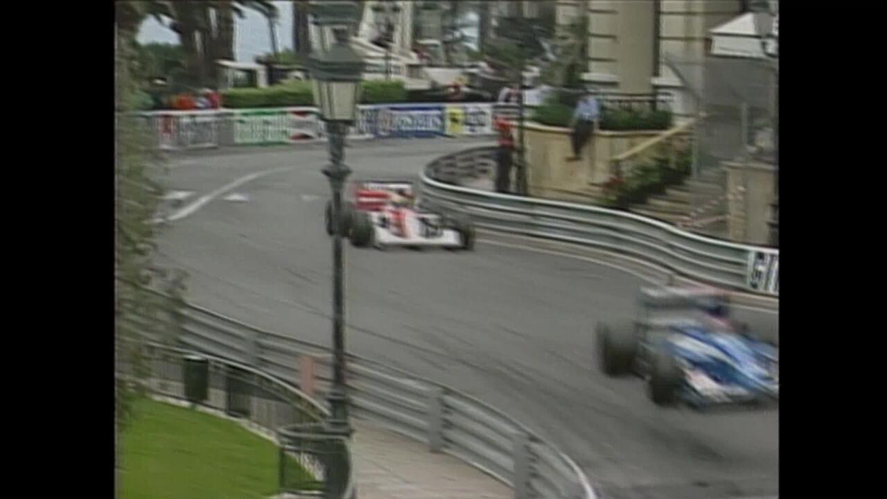 Senna resistiu a ataque de Mansell para vencer em Mônaco, em 1992
