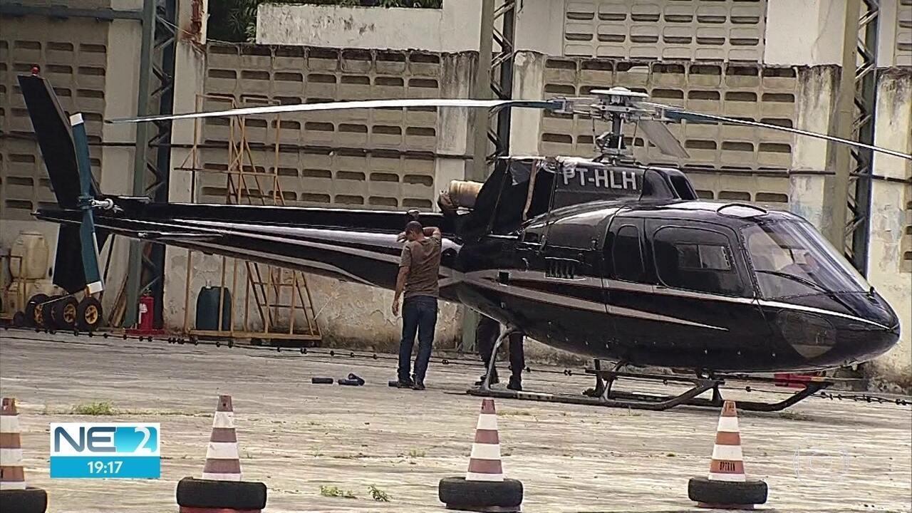 Polícia apreende dois helicópteros e iate de empresário preso por lavagem de dinheiro