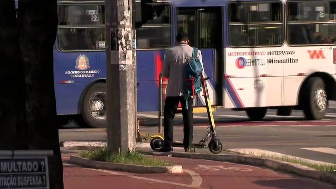 Empresa de aluguel de patinetes tenta derrubar decreto em SP