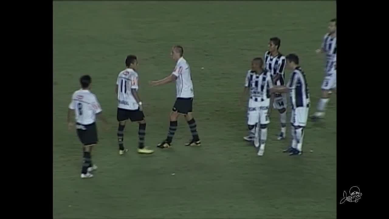 Com Neymar em campo, Ceará e Santos fizeram jogo histórico em 2010; relembre