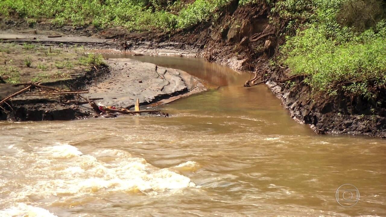 Produtores sofrem com água contaminada a 300 km de Brumadinho