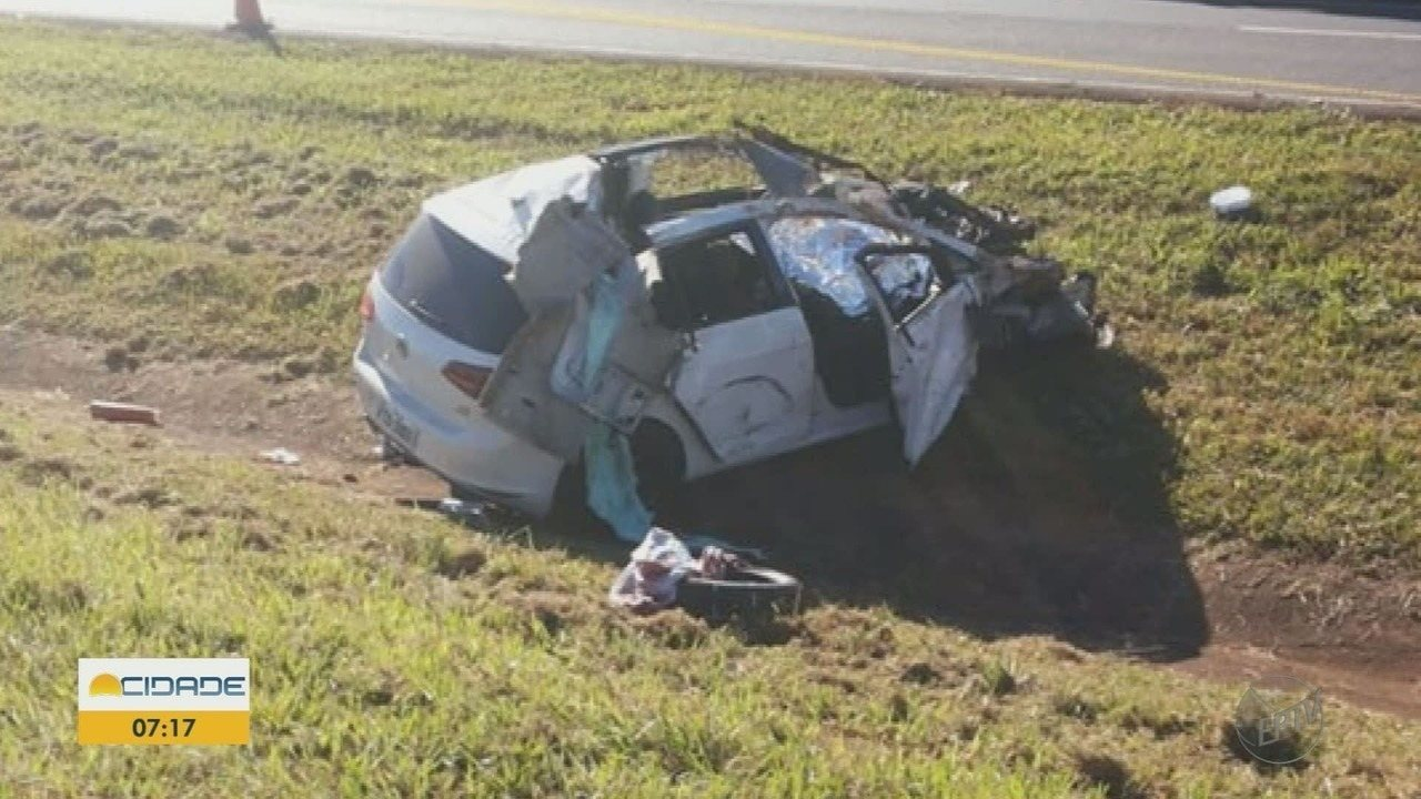 Jovem morre em acidente em rodovia na região de Guará, SP
