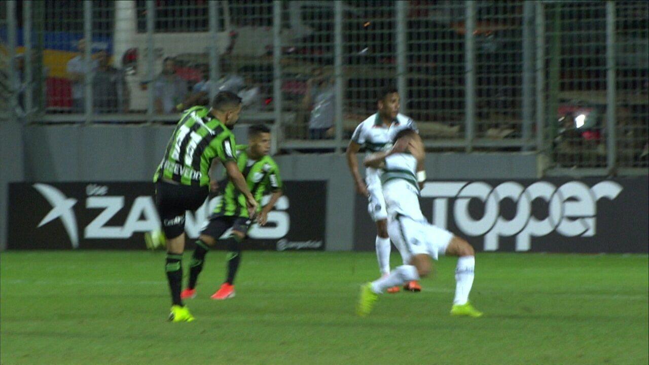 Melhores momentos: América-MG 1 x 1 Coritiba pela 6ª rodada do Brasileirão Série B
