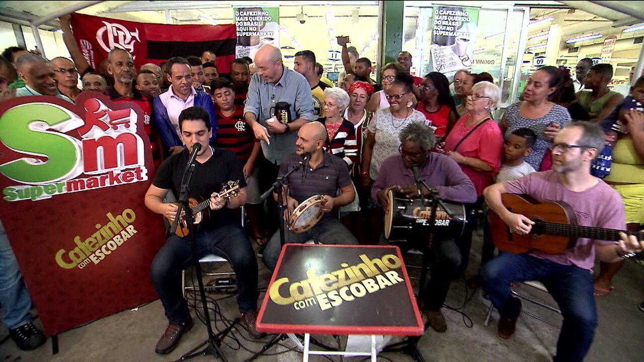 """""""Cafezinho com Escobar"""" vai a Marechal Hermes ouvir o que o povo tem a dizer do futebol carioca"""