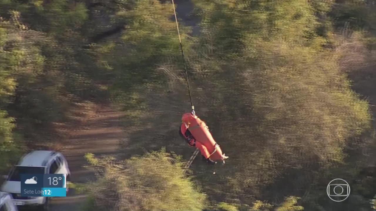 Praticante de highline morre após cair na Serra do Curral, em BH