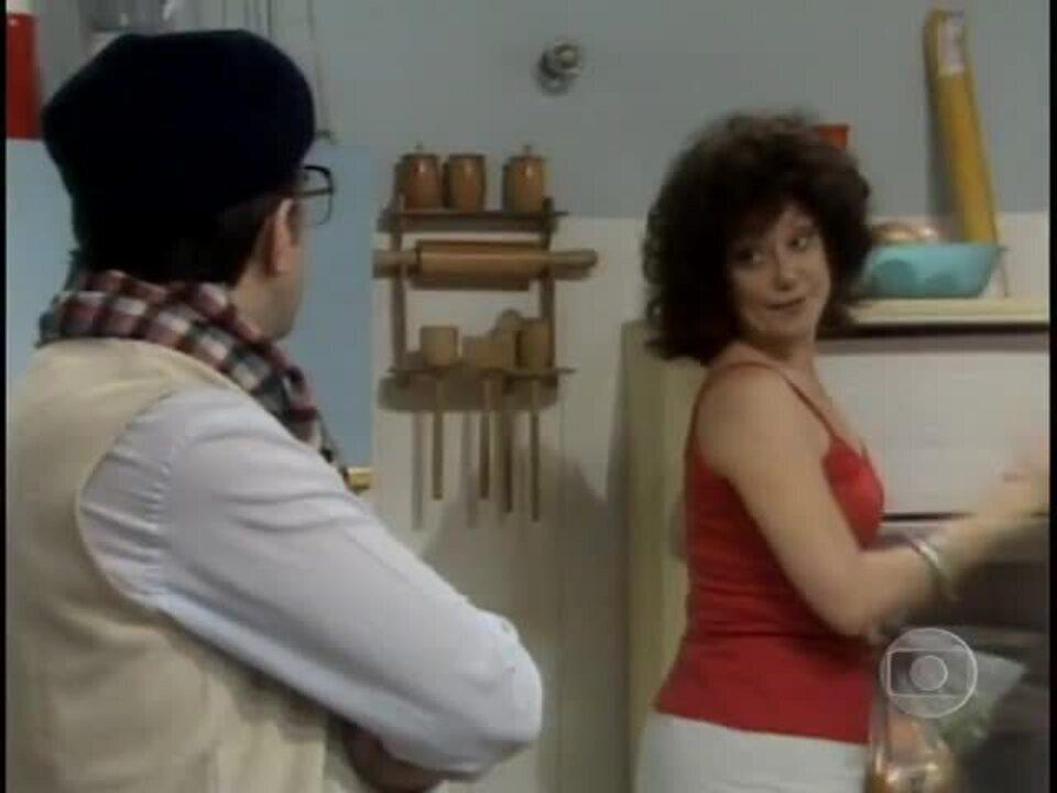 """Suely Franco fala de forma folgada e já mandava no Ary Fontoura em """"Jogo da Vida"""