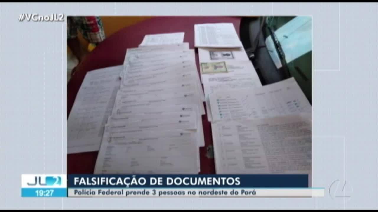 Operação da Polícia Federal prende suspeitos de integrar quadrilha de falsificação