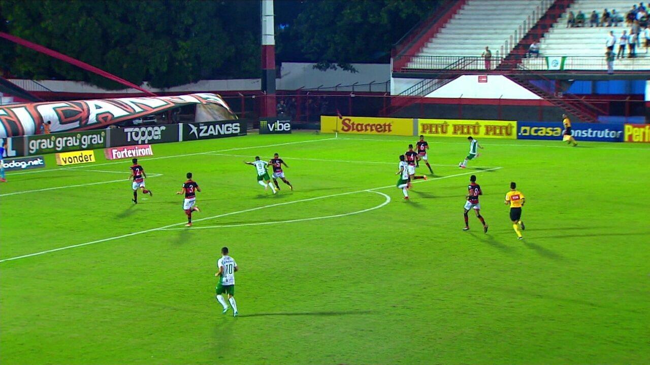 Melhores momentos: Atlético-GO 1x0 Guarani pela 7ª rodada do Brasileiro Série B