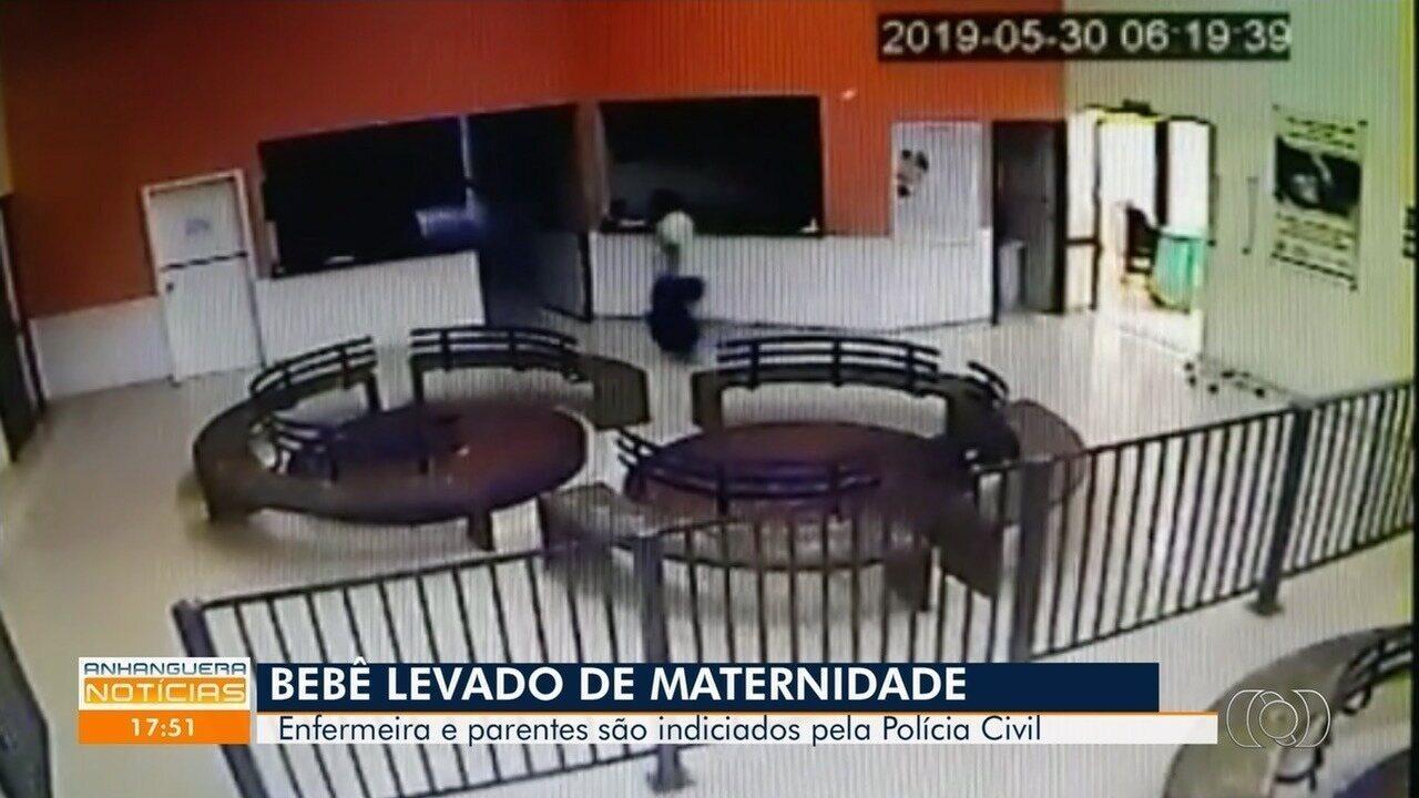 Vídeo mostra técnica de enfermagem saindo de maternidade com bebê em saco, diz polícia