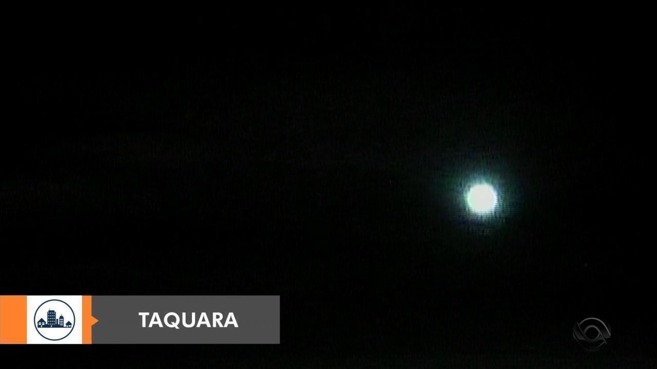 Mais um meteoro é visto no céu do RS