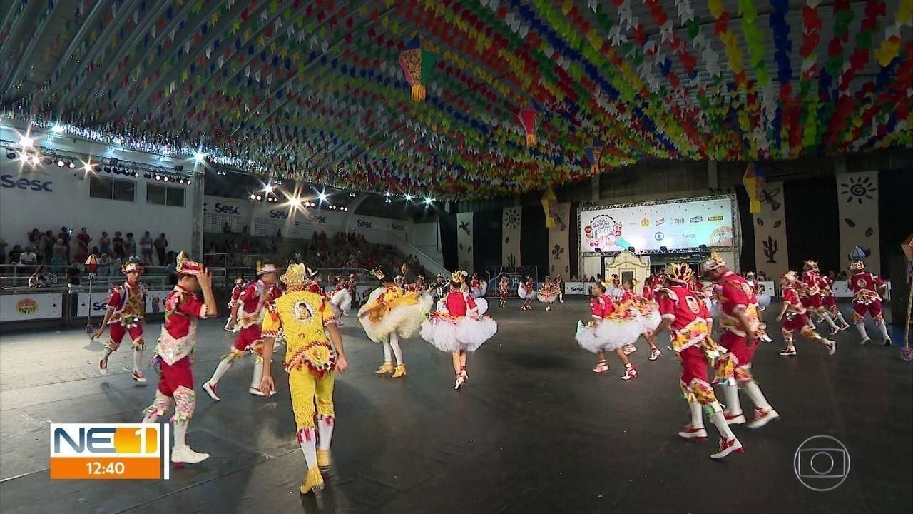 Animação toma conta do 3º dia de seletivas do Festival de Quadrilhas Juninas da Globo