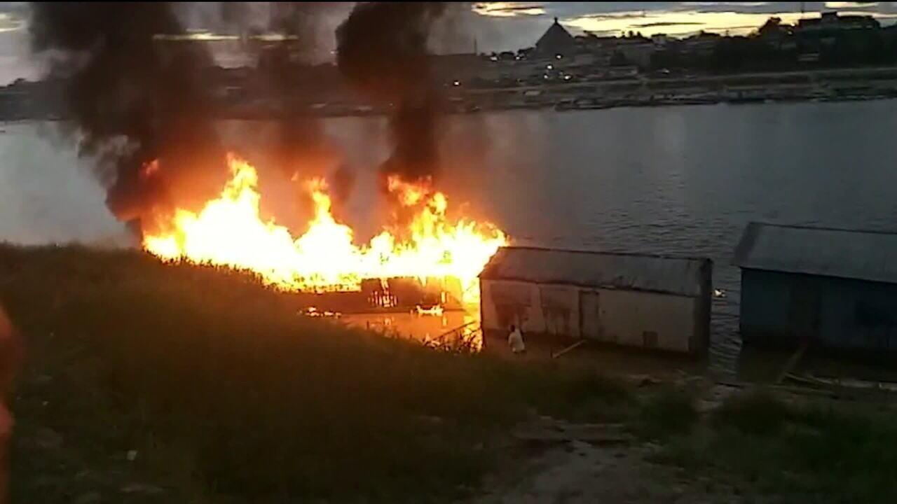 Abastecimento clandestino e irregular causou explosão em embarcação no Acre