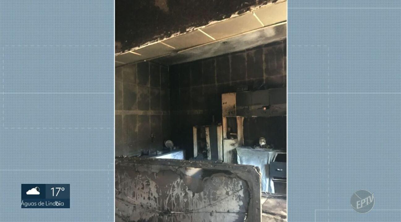Três pessoas ficaram feridas após incêndio no bairro Vila União, em Campinas