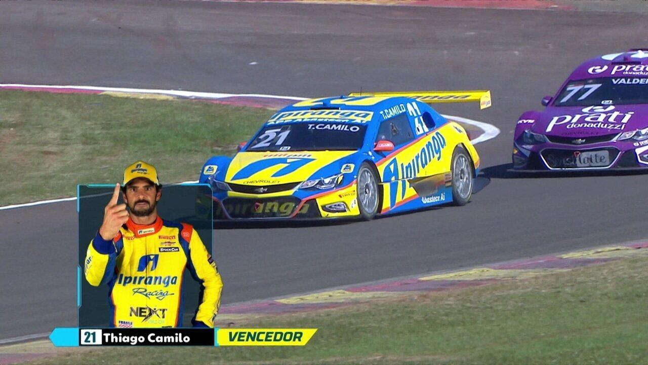 Thiago Camilo vence a primeira corrida da etapa de Londrina da Stock Car