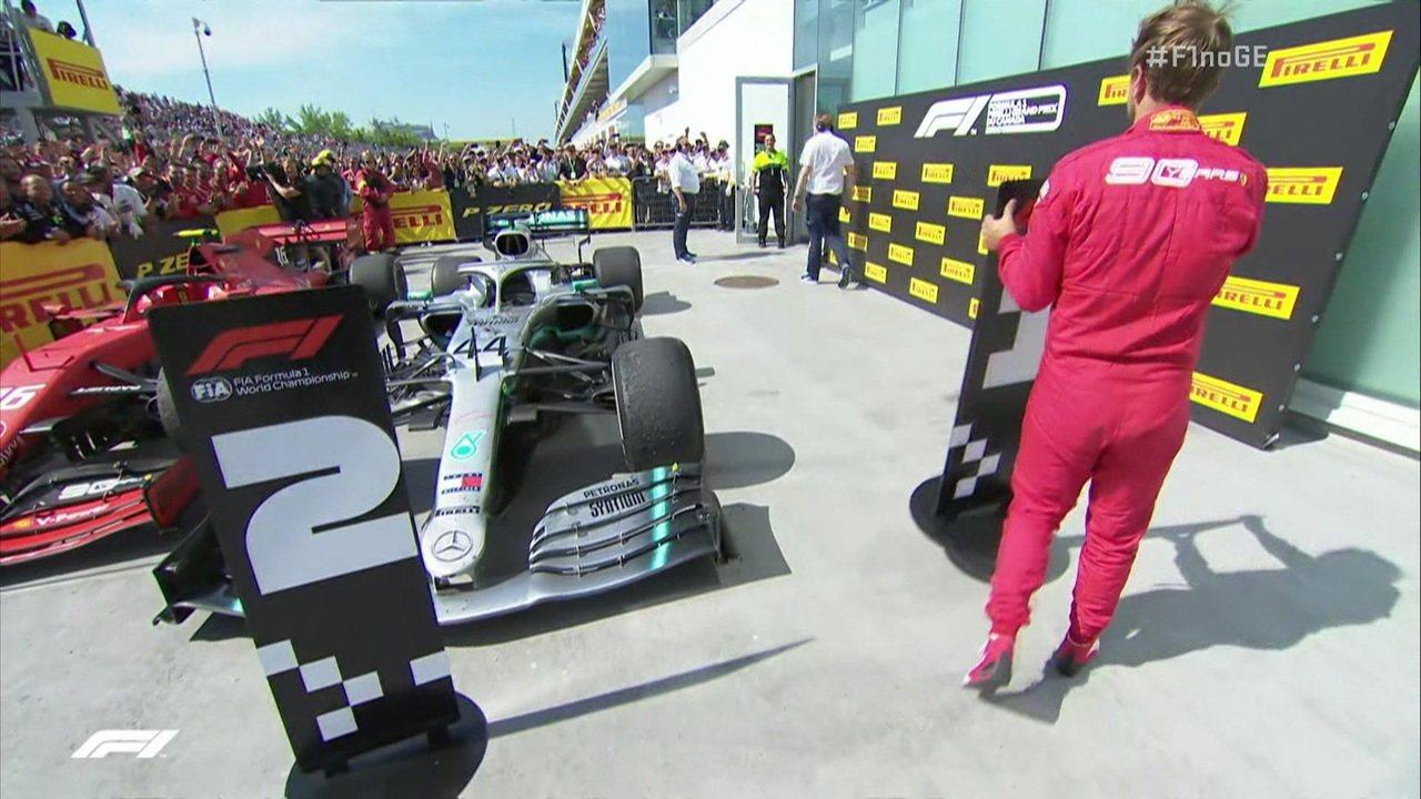 Vettel termina primeiro, mas fica em segundo no GP do Canadá; Entenda o episódio
