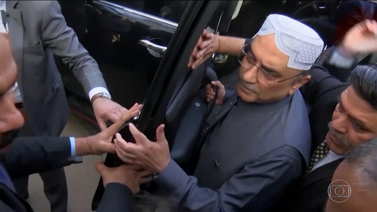 Polícia prende ex-presidente do Paquistão